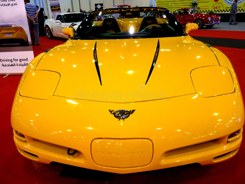 Voiture de sport de Corvette photo stock