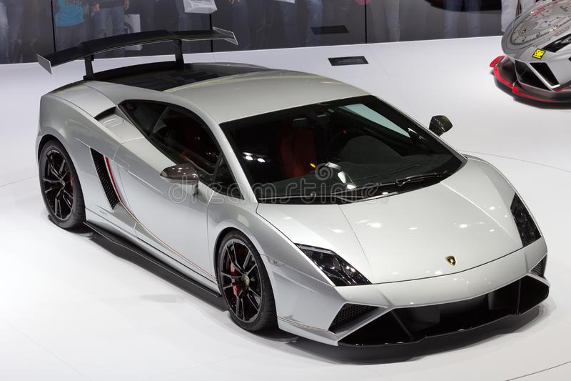 Voiture de sport de Lamborghini Gallardo photo libre de droits