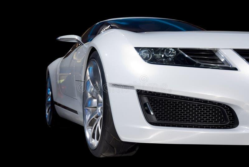 voiture de sport de luxe blanche photo stock image du moderne richesse 2125364. Black Bedroom Furniture Sets. Home Design Ideas