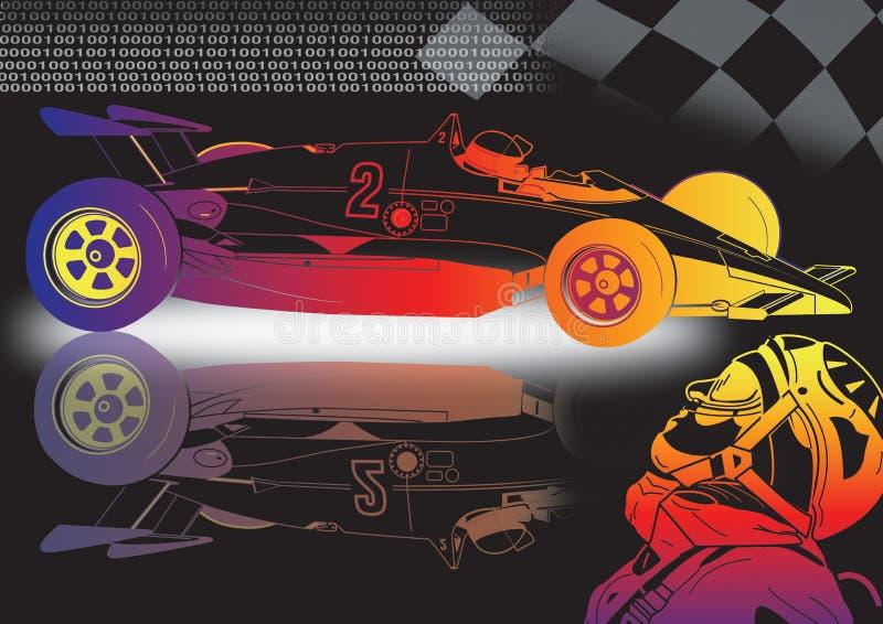 voiture de sport neuve illustration stock