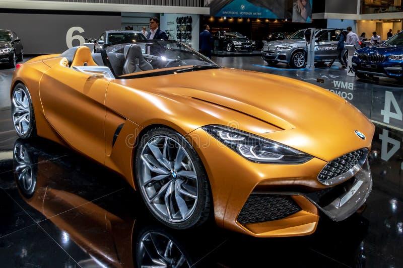 Voiture de sport de roadster de BMW Z4 photos libres de droits