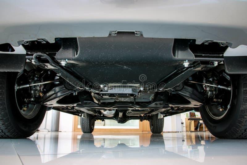 Voiture de suspension, camion pick-up de suspension images stock