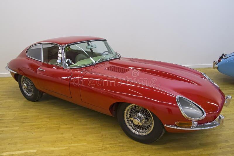 Voiture de type e de Jaguar photo libre de droits