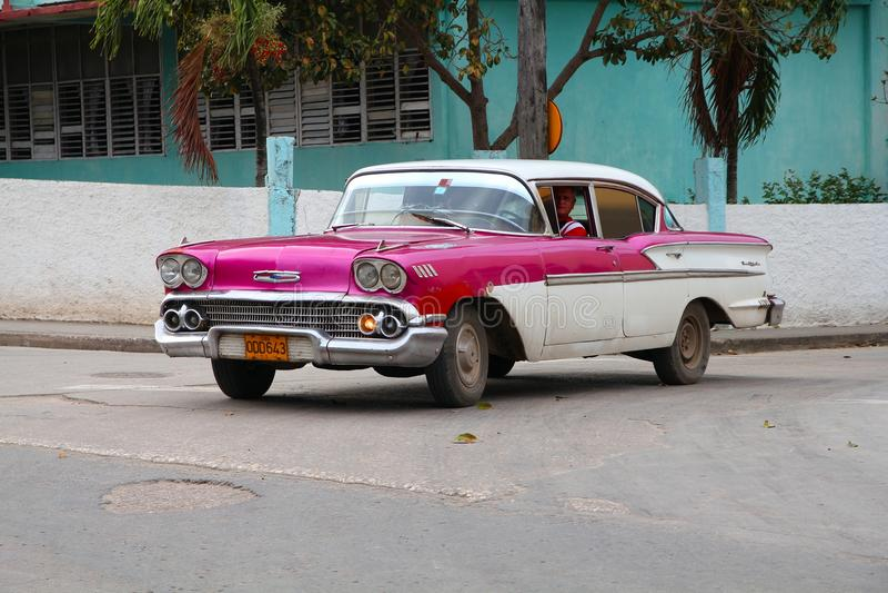 Voiture du Cuba photo stock