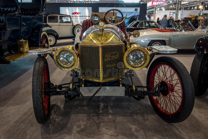 Voiture Ford Model T Speedster, 1912 de vintage photographie stock