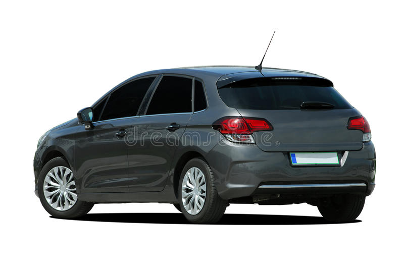 Voiture grise photo stock
