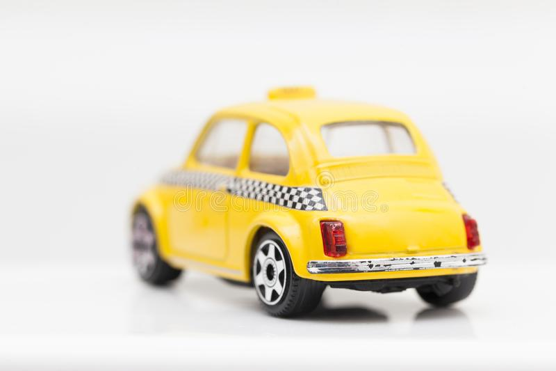 Voiture Jaune De Taxi De Jouet Image Stock Image Du Jaune Jouet 113459903