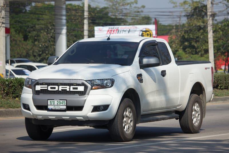 Voiture privée de collecte, Ford Ranger photo libre de droits