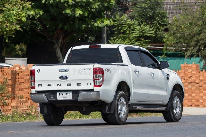 Voiture privée de collecte, Ford Ranger images stock