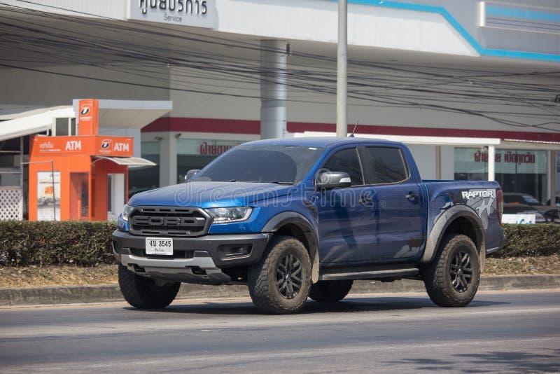 Voiture privée de collecte, Ford Ranger images libres de droits