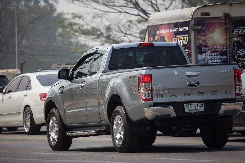 Voiture privée de collecte, Ford Ranger photos stock