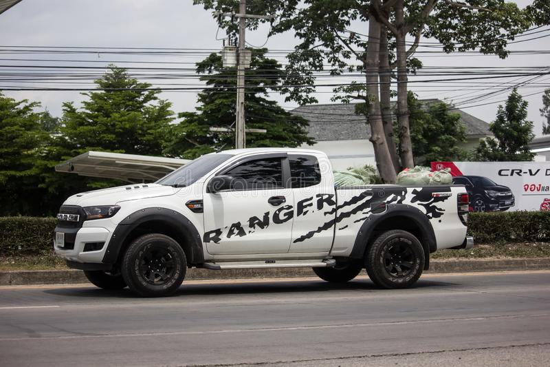 Voiture priv?e de collecte, Ford Ranger photo libre de droits