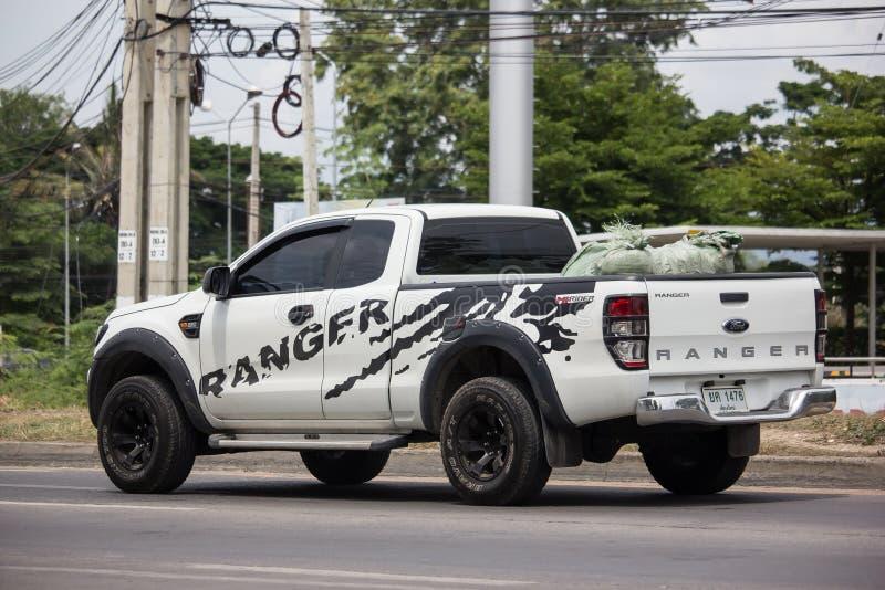 Voiture priv?e de collecte, Ford Ranger image libre de droits