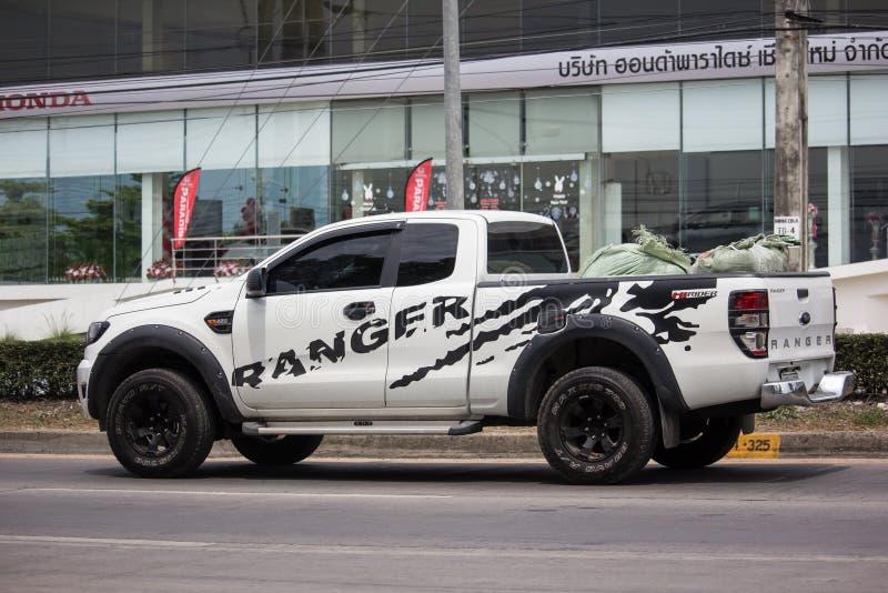 Voiture priv?e de collecte, Ford Ranger photographie stock