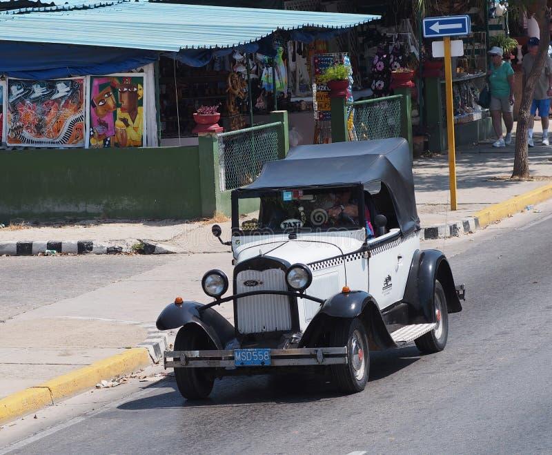 Voitures de Varadero Cuba photos libres de droits