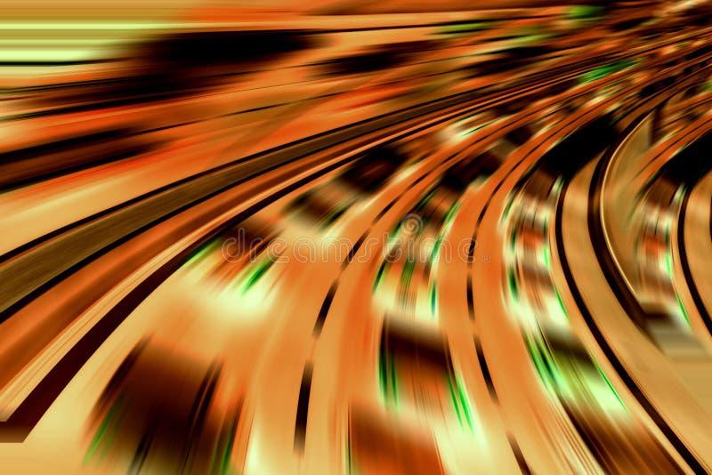 Voitures futuristes très rapides photographie stock