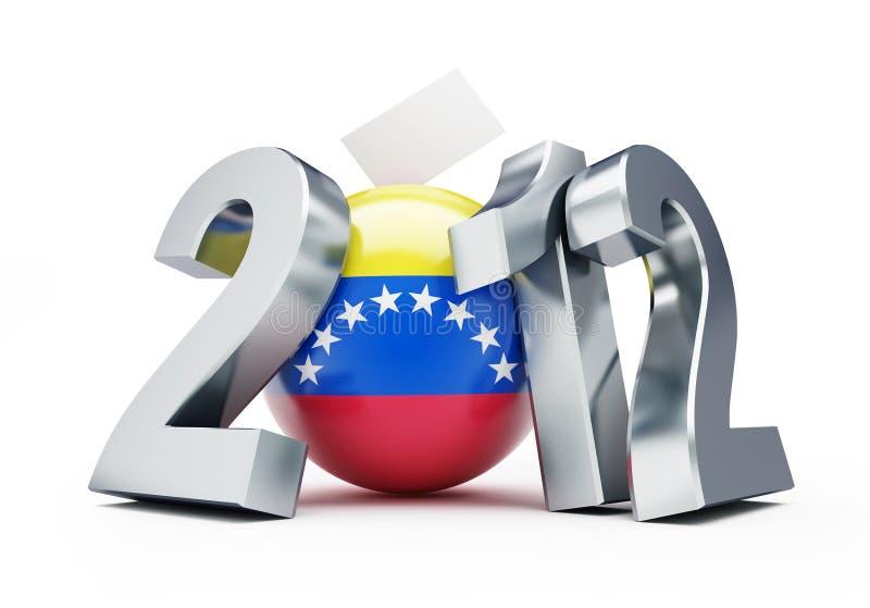 Voix Venezuela 2012 illustration libre de droits