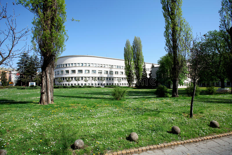 Vojvodina κυβέρνηση στοκ εικόνα