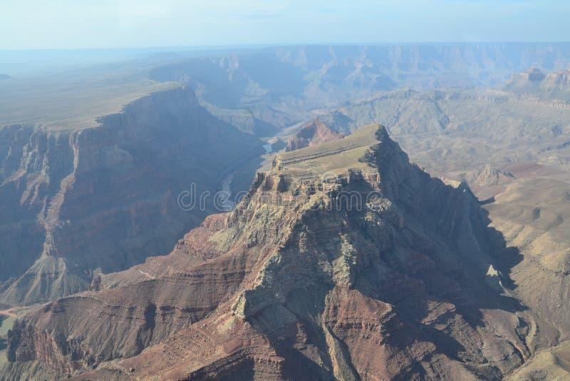 Vol au-dessus de Grand Canyon images libres de droits
