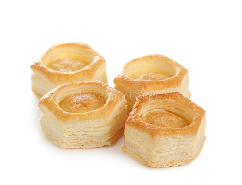 Download Vol-au-vent pastry shell stock image. Image of vent, ingredient - 6338621