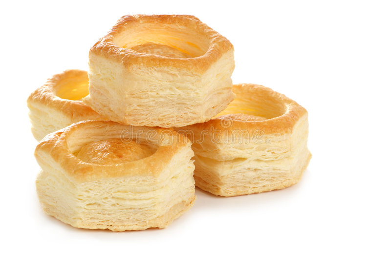Vol au vent pastry shell royalty free stock photo image for Canape pastry shells