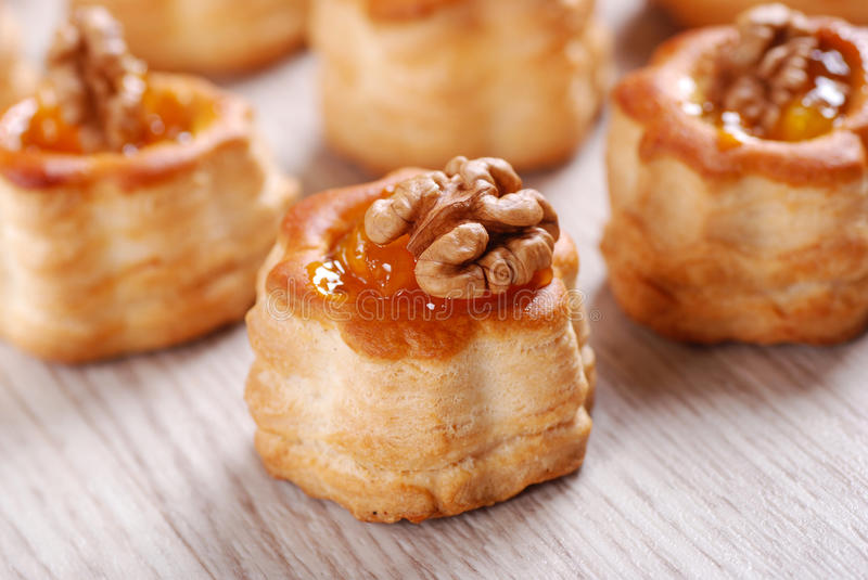 Download Vol Au Vent With Walnuts Royalty Free Stock Photos - Image: 26950388