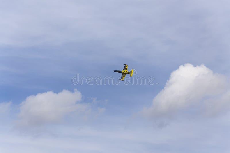 Vol baltique de Jet Team d'abeilles image libre de droits