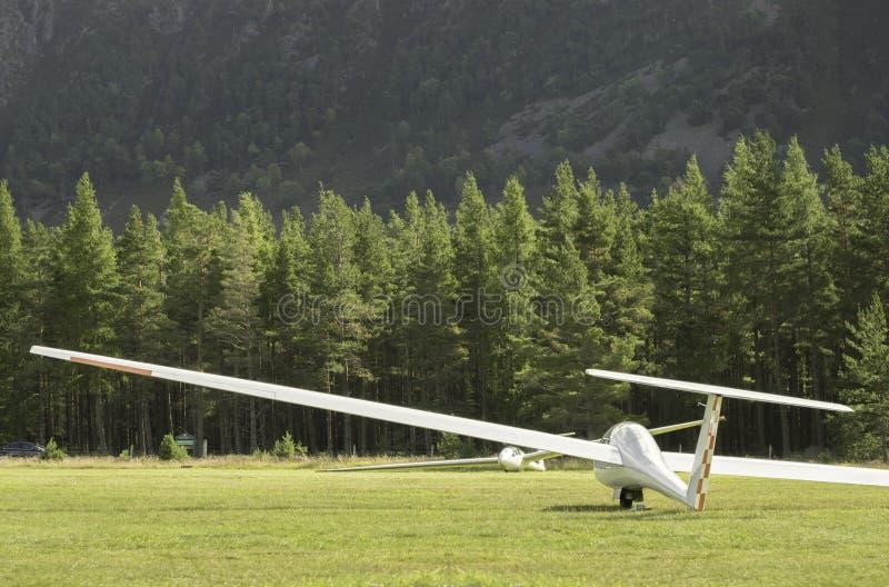 Vol d'attente de planeurs photos stock