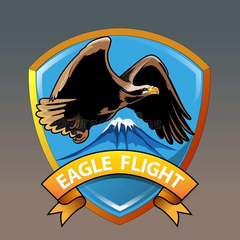 Vol d'Eagle illustration libre de droits