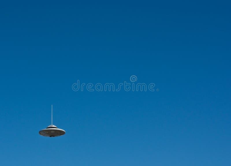 Vol d'UFO images stock