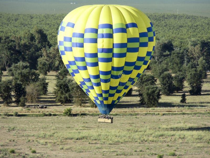 Vol de ballon image libre de droits