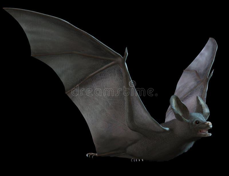 Vol de 'bat' illustration stock
