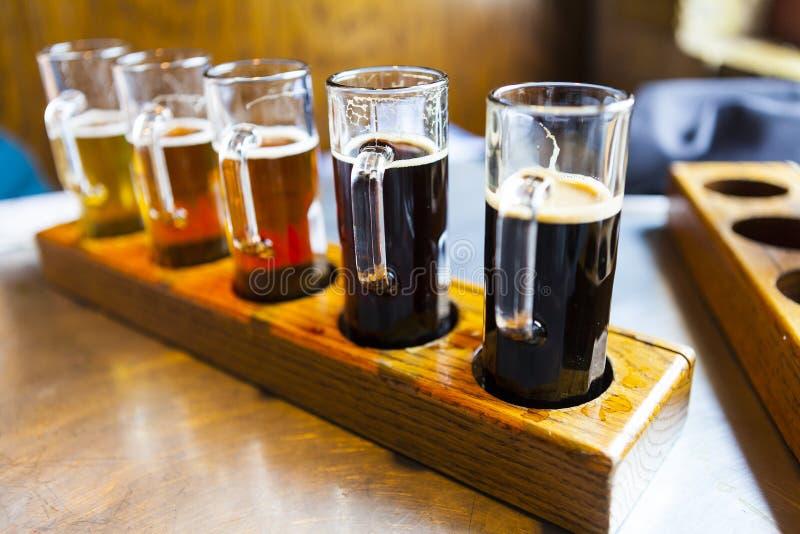 Vol de bière photographie stock libre de droits
