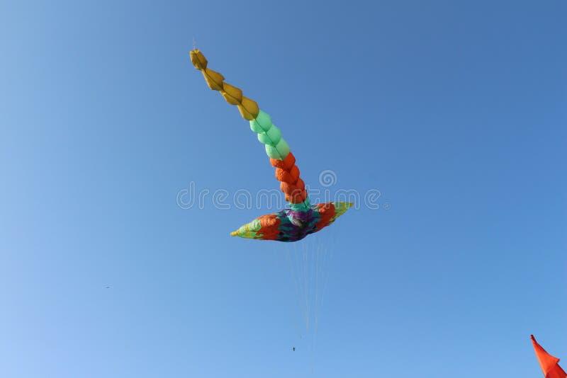 Vol de cerf-volant de dragon images stock