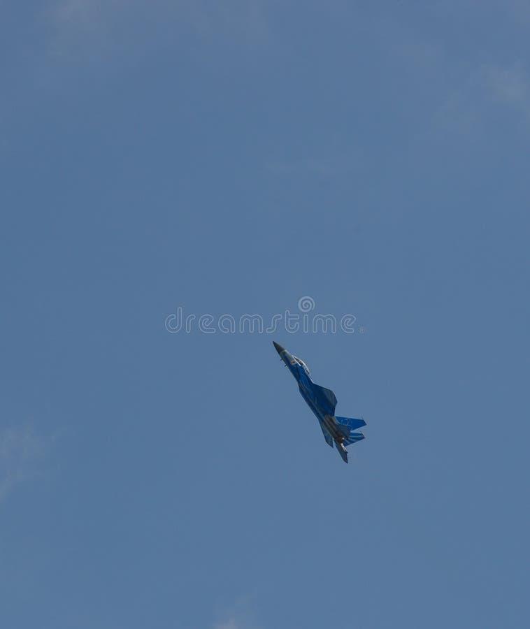 Vol de chasseurs pour l'affichage images stock