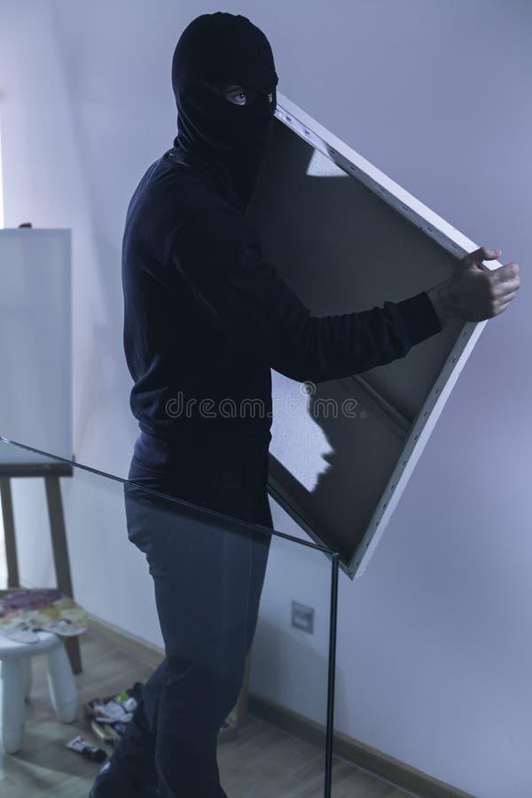Vol de la peinture photo stock