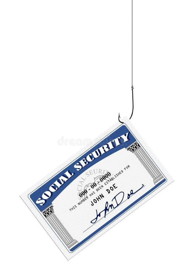 Vol de sécurité sociale photos libres de droits