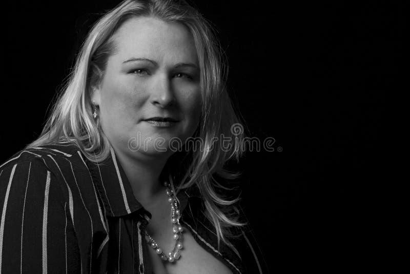 Vol figuur vrouwen stock fotografie