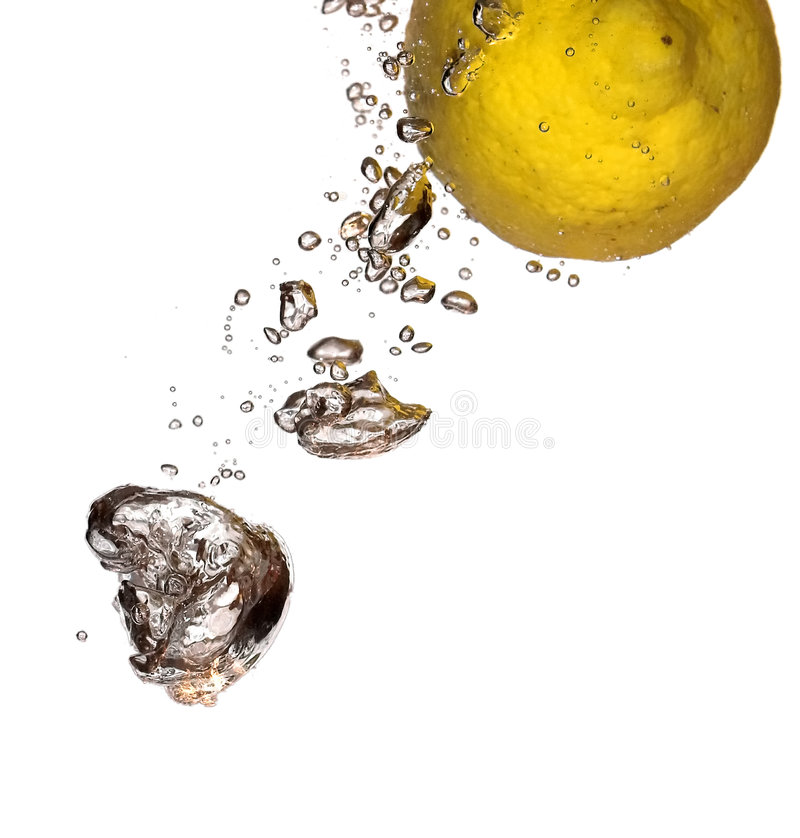 Vol jaune image stock