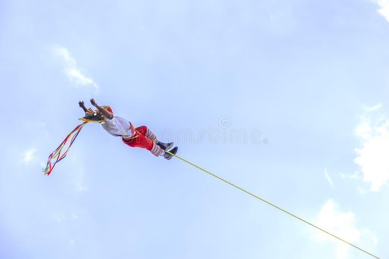 voladores de Papantla 免版税库存图片