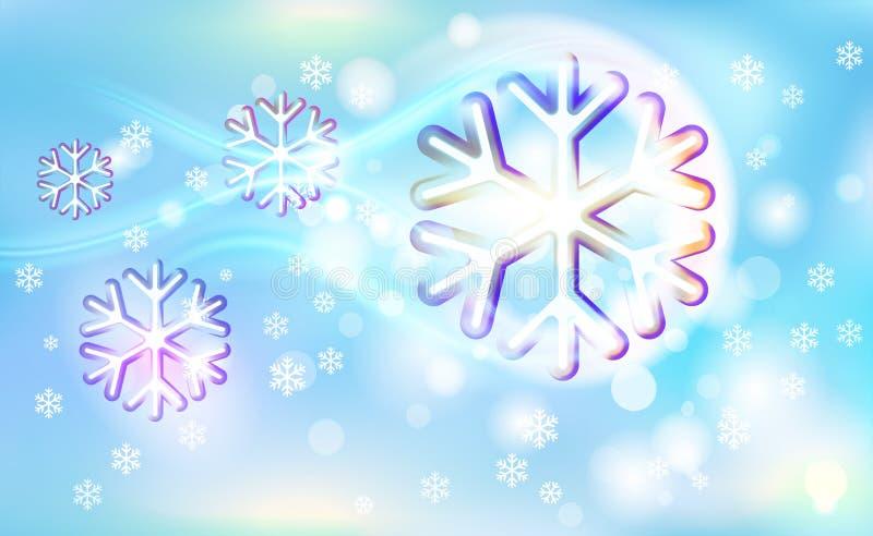 Volando como los copos de nieve abigarrados de un cometa en una falta de definición caótica para la Navidad, Año Nuevo, bokeh de  libre illustration