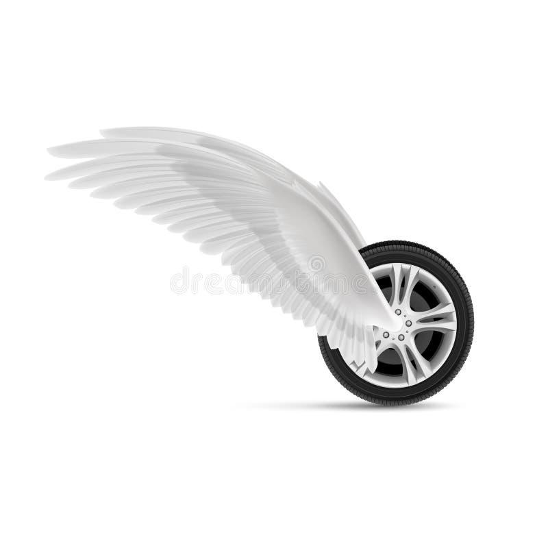 Volant illustration de vecteur