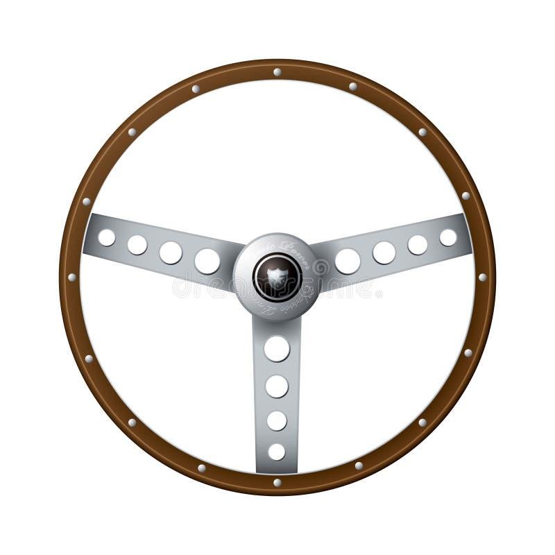 Volante antiquato illustrazione vettoriale