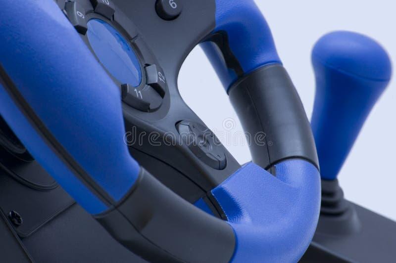 Download Volante Blu Per I Giocatori Fotografia Stock - Immagine di bianco, gioia: 7311238