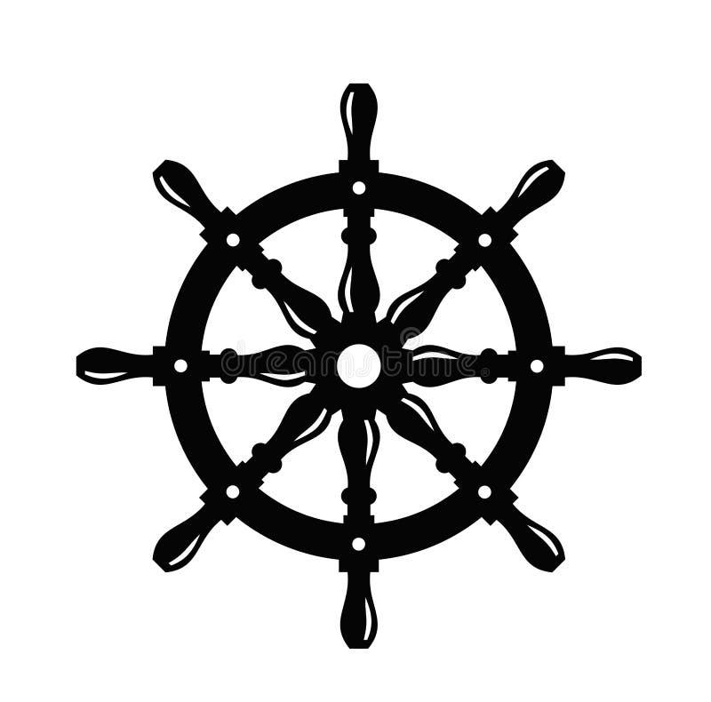 Volante de la nave stock de ilustración