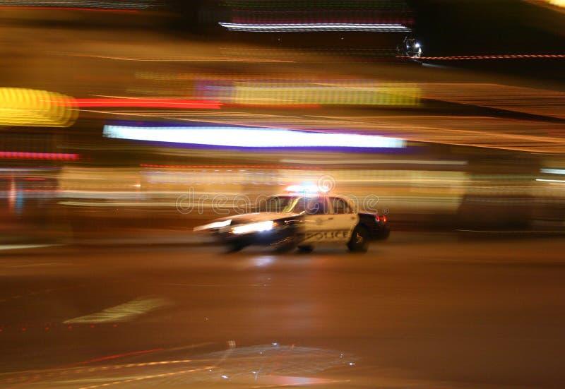 Volante della polizia fotografie stock libere da diritti