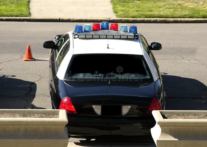 Volanti della polizia immagine stock