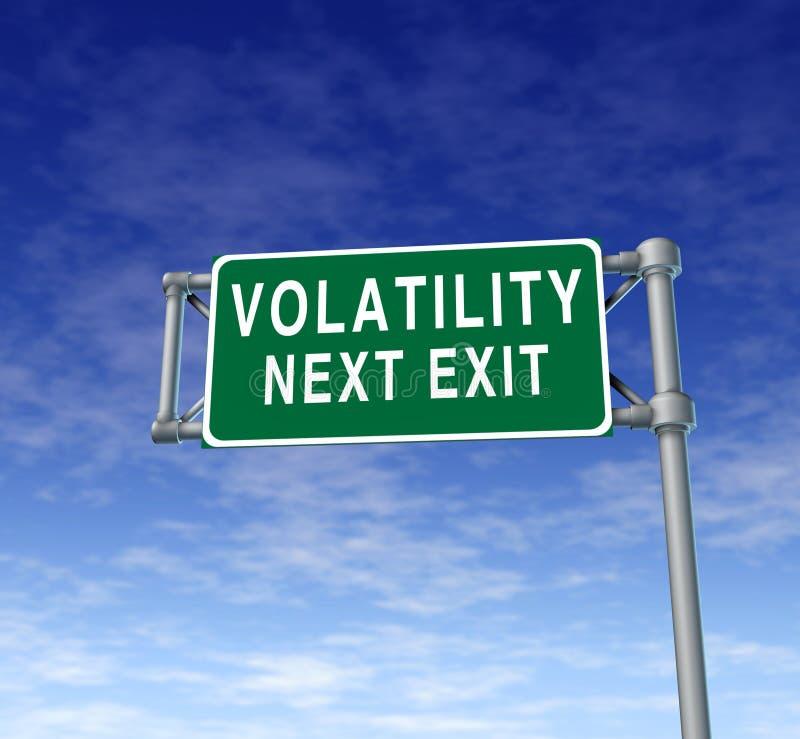 Volatilidade ilustração royalty free