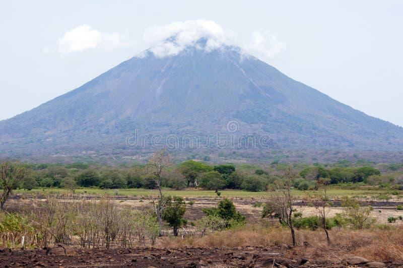 Volcán Concepción foto de archivo