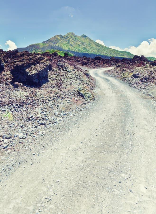 Volcán de Batur imagen de archivo libre de regalías